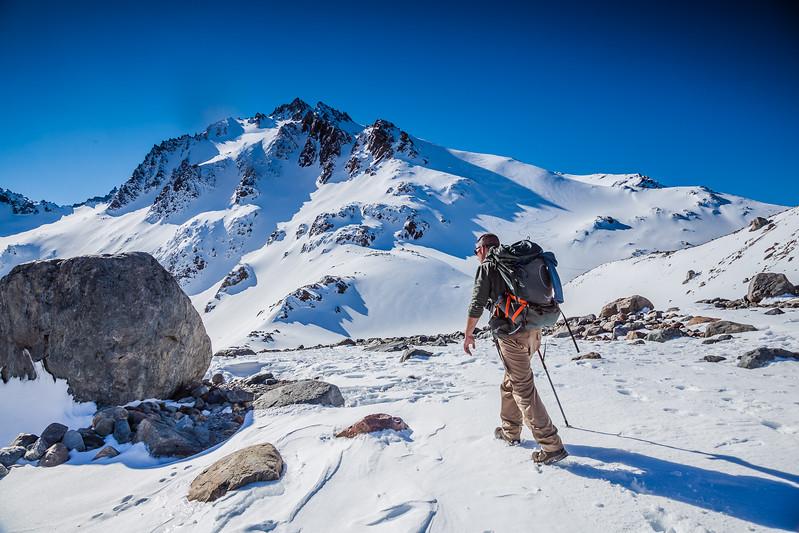 Hiking in Patagonia Laguna de Los Tres Fitz Roy