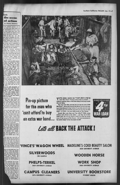 The Trojan, Vol. 35, No. 73, January 17, 1944
