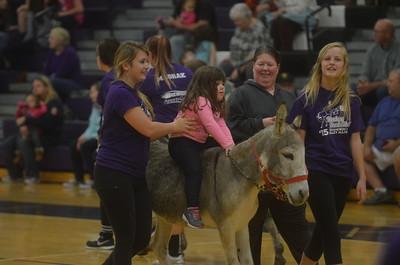 Donkey Basketball at Shamokin High