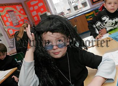 Bun Scoil An Iur Halloween Party on Friday last. Tom Magill.06W44N26