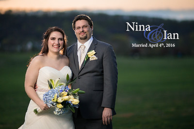 Nina and Ian: Married April 4th, 2016