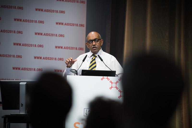 22nd International AIDS Conference (AIDS 2018) Amsterdam, Netherlands   Copyright: Marcus Rose/IAS  Photo shows: STI 2018. Speaker: Raj Patel.
