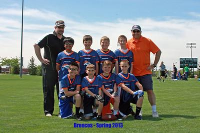 Broncos (11) - Spring 2013