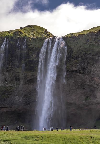 Selijalandsfoss Waterfall   Photography by Wayne Heim