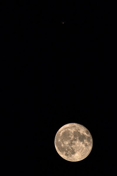 The Moon & Mars