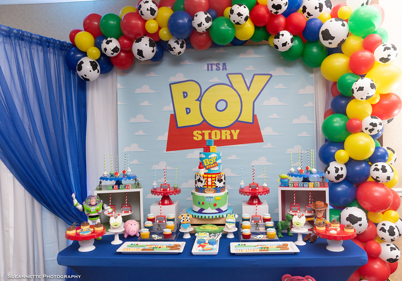 Boy Story - Toy Story Inspired Baby Shower