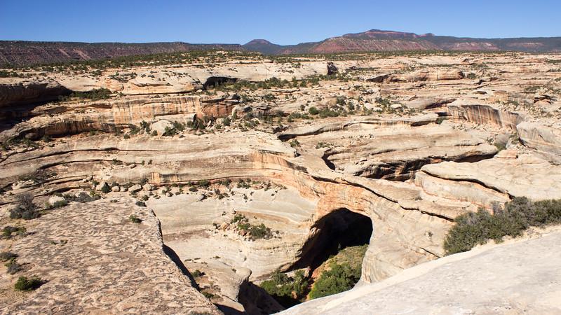 2017-09-18  Sipapu Bridge, Natural Bridges National Monument, Utah