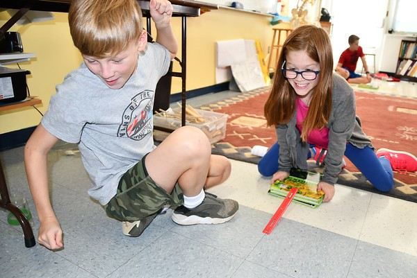 Fifth Graders Take On the Inclined Plane Challenge