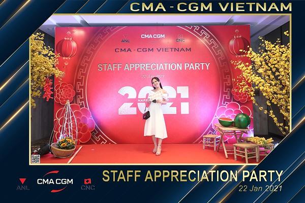 CMA - CGM VIETNAM | Year End Party 2020 instant print photo booth @ New World Hotel Saigon | Chụp hình in ảnh lấy li�n Tất niên 2020 tại TP Hồ Chí Minh | WefieBox Photobooth Vietnam