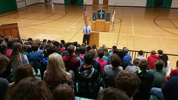 Erik Paulsen visits West
