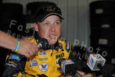 Media Interviews with NASCAR Drivers