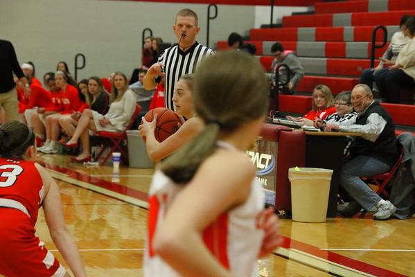 WHS Varsity Girls Basketball vs Rose Hill  021420