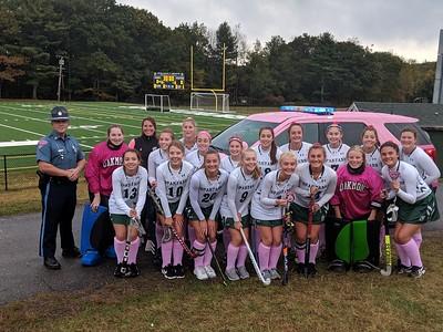 Oakmont Regional High School Pink Field Hockey - 10.09.2019