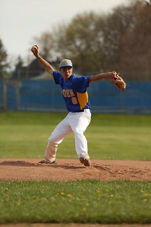 Alden Boys var Baseball vs East Aurora  5-10-16