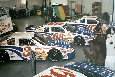 NASCAR Press Confrence @ Verres racing 2-7-2001