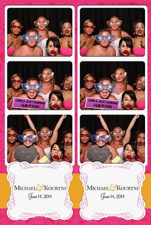 Michael and Kourtni Wedding 6.14.2014