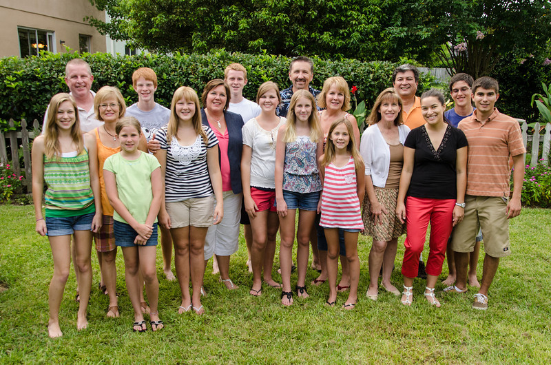 Roberts Family Gathering 2012