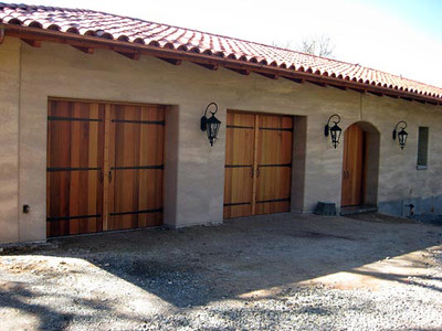 carriage doors and entry