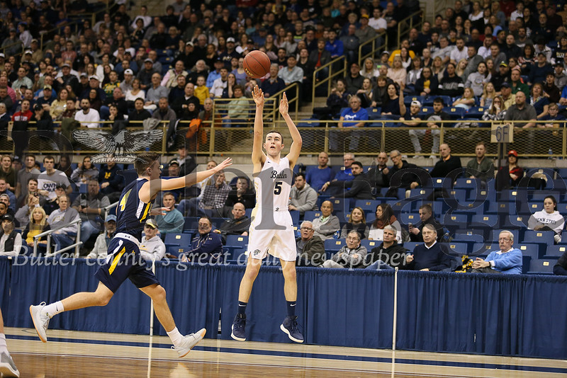 Butler vs Mount Lebanon WPIAL Boys Basketball Finals