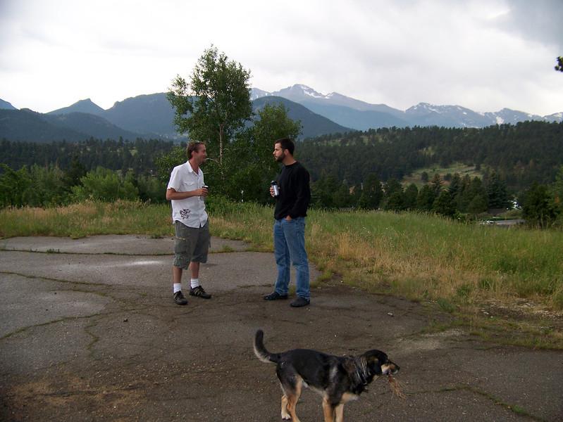Juel & Caleb visit Colorado in July 2007