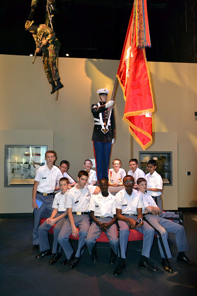 7th Grade Trip to the Marine Corps Museum