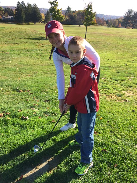 Golf with Third Graders