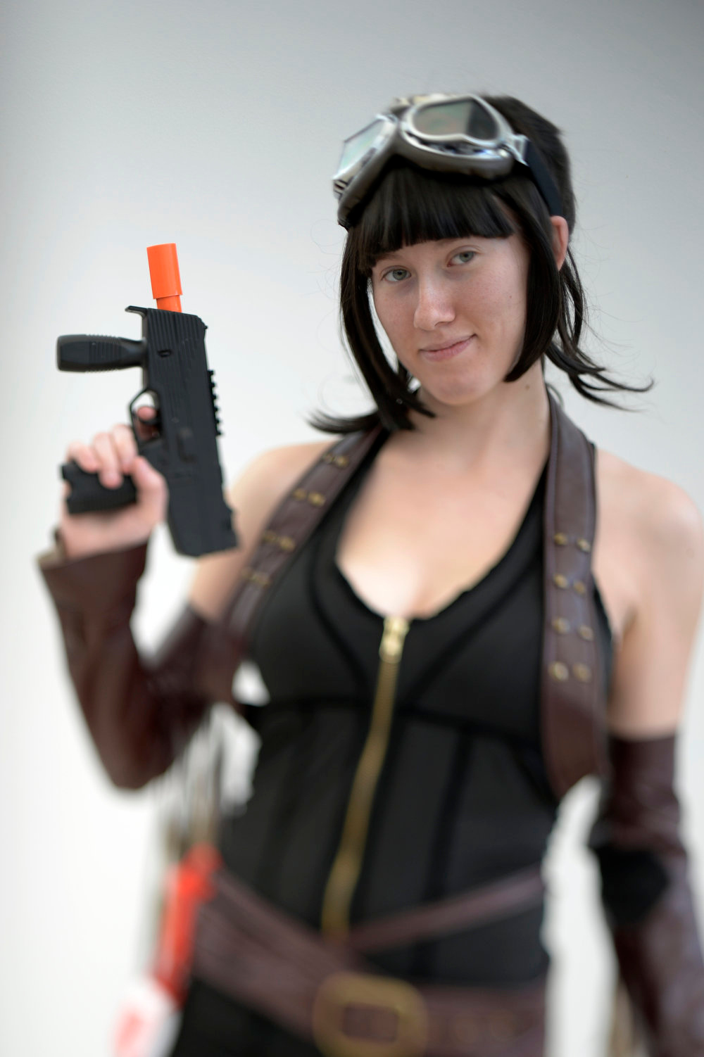 . Randi Muilenburg 21-years-old poses as Rocket as she attends the Denver Comic Con June 2, 2013 at the Colorado Convention Center. The Convention brought in more than 45,000 for the three day weekend. (Photo By John Leyba/The Denver Post)