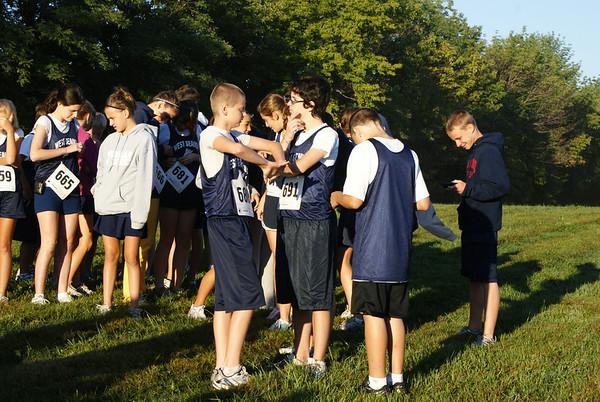 West G Middle School Boys CC