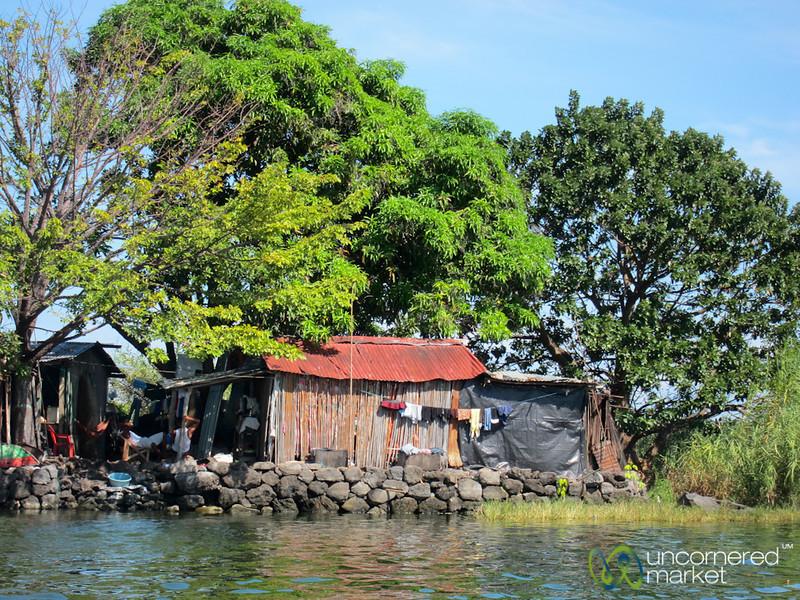 Simple House on Lake Nicaragua