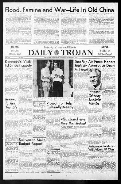 Daily Trojan, Vol. 57, No. 33, November 03, 1965