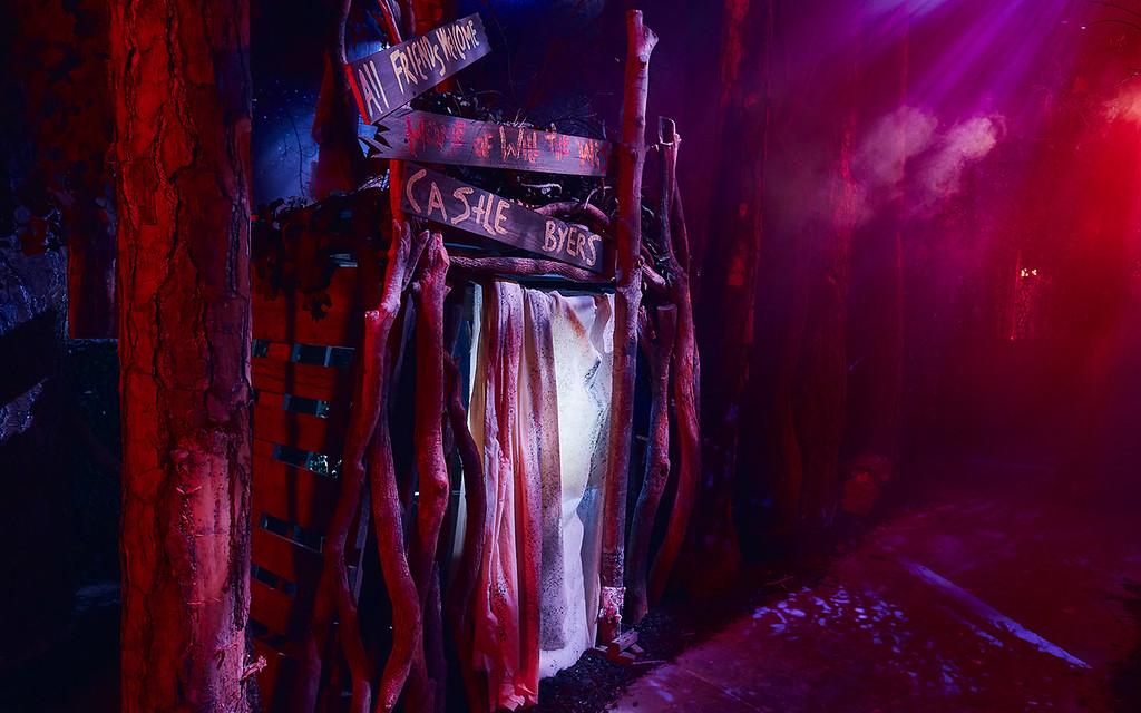 Universal Studios Singapore Halloween Horror Nights 8 Before Dark update - STRANGER THINGS haunted house / Castle Byers in Upside Down