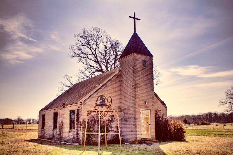 Bethlehem Church - Hawthicket Community near Mt. Vernon, AR