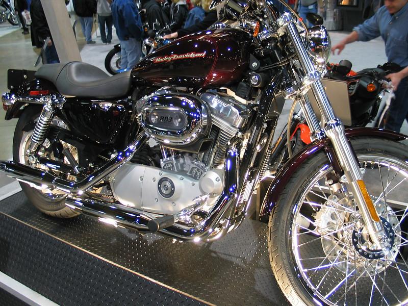 Harley Davidson XL 883C Sportster 883 Custom