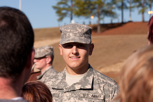 Austin in the US Army