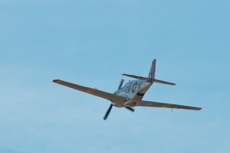 """""""Betty Jane"""" makes a high-speed pass at the Lincoln Airport with Gary at the controls!"""