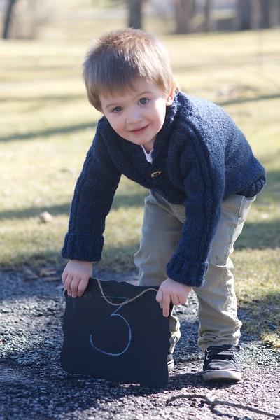Shawn Thomas - Three Years Old