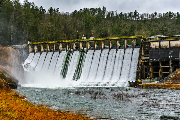 Lake Rabun Dam Flooding - 2-23-19
