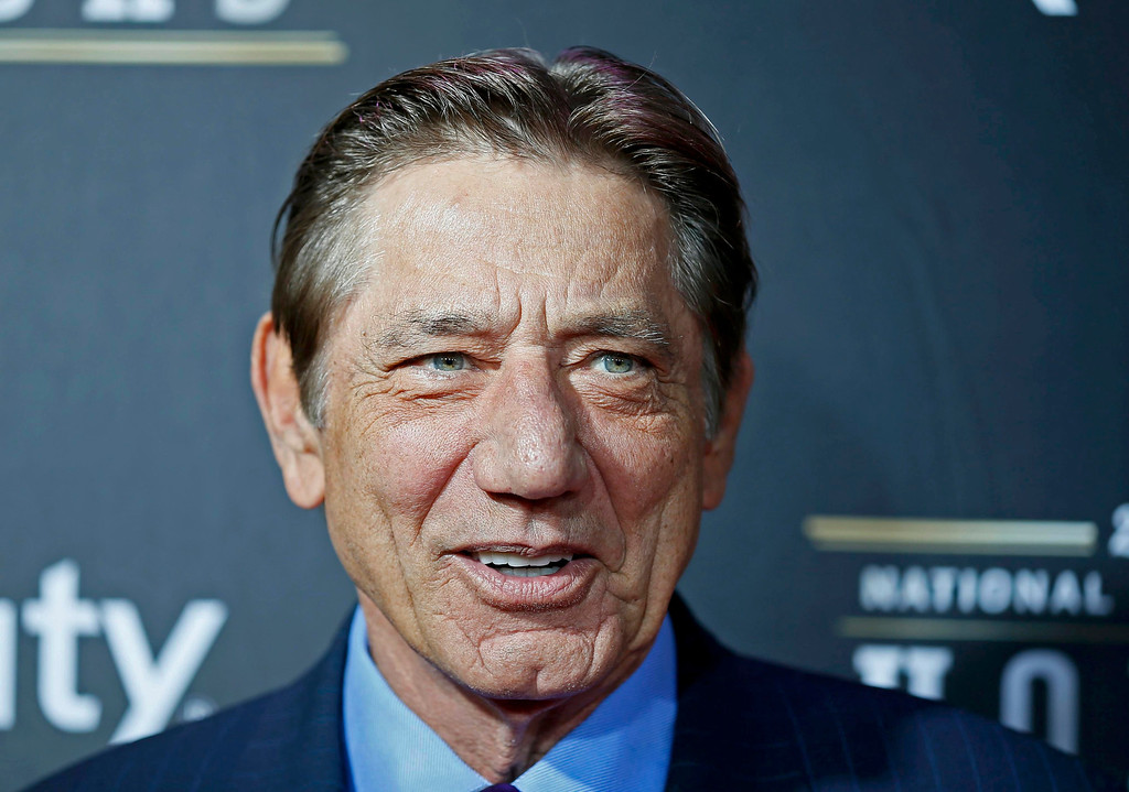 . Hall of famer Joe Namath arrives at the 2nd Annual NFL Honors in New Orleans, Louisiana, February 2, 2013. The San Francisco 49ers will meet the Baltimore Ravens in the NFL Super Bowl XLVII football game February 3.   REUTERS/Lucy Nicholson