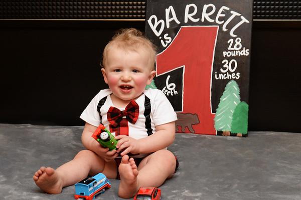 Barrett 1st Birthday
