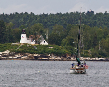 Burnt Island Lighthouse, ME