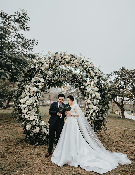 Trang - Hi | Intimate Wedding at JW Marriott Hà Nội
