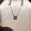 .70ct French Cut Diamond Bezel Pendant, 18kt Yellow Gold 8
