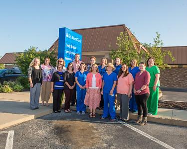 06-15-2017 StJohns Clinic group shot