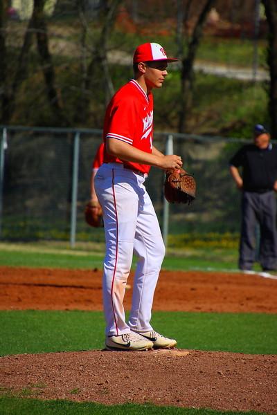 WHS Varsity Baseball vs Buhler  042318