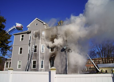 2 Alarm Structure Fire - 220 Clinton St, New Britain, CT. - 1/30/21