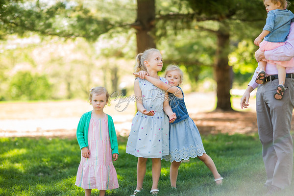 May 2017 - Evalyn, Claire, Ruth and Elsie