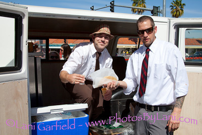 Food Truck at El Paseo Fashio Week for Palm Springs Life 3/11/11