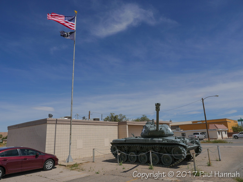 VFW Post 8336, Overton, NV - M41A3