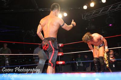 DGUSA 6/3/11 - PAC & Masato Yoshino vs YAMATO & Akira Tozawa