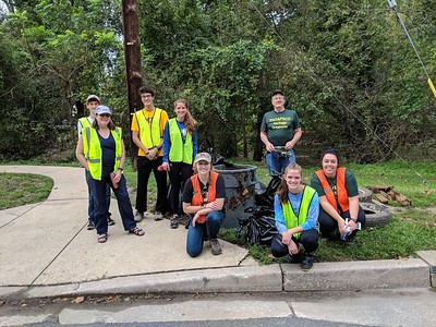 9.22.2018 Watershed Cleanup at #9 Trolley Trail/Cooper Branch